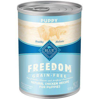 Blue Buffalo Freedom Canned Puppy Food Canned Dog Food Wet Dog