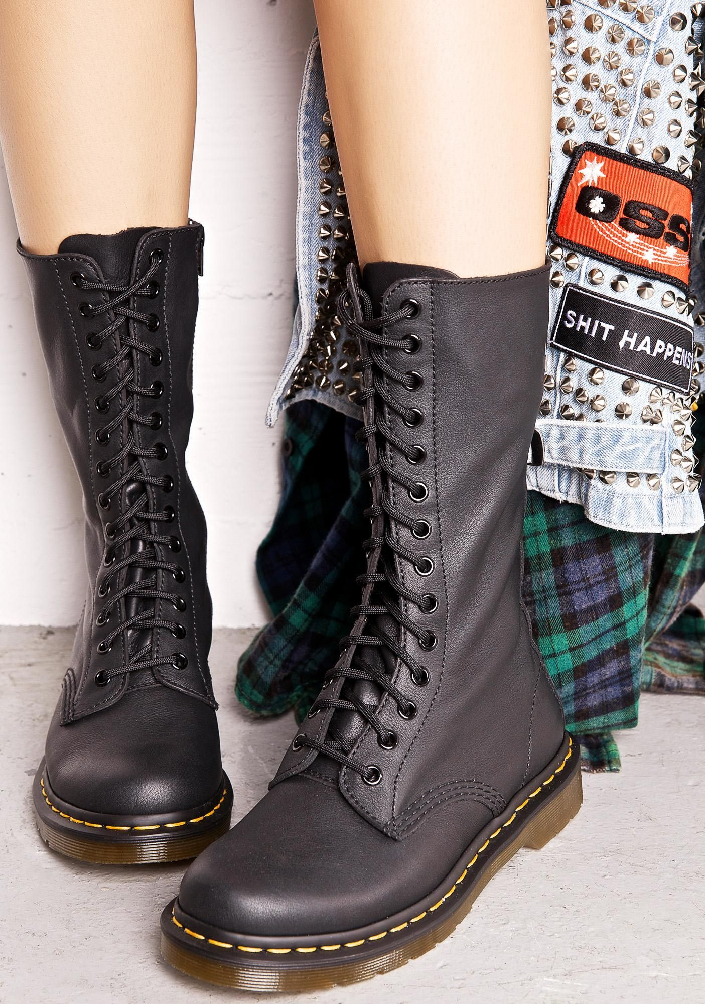 When is a Lace Up Combat Boot Too Similar to a Dr. Martens