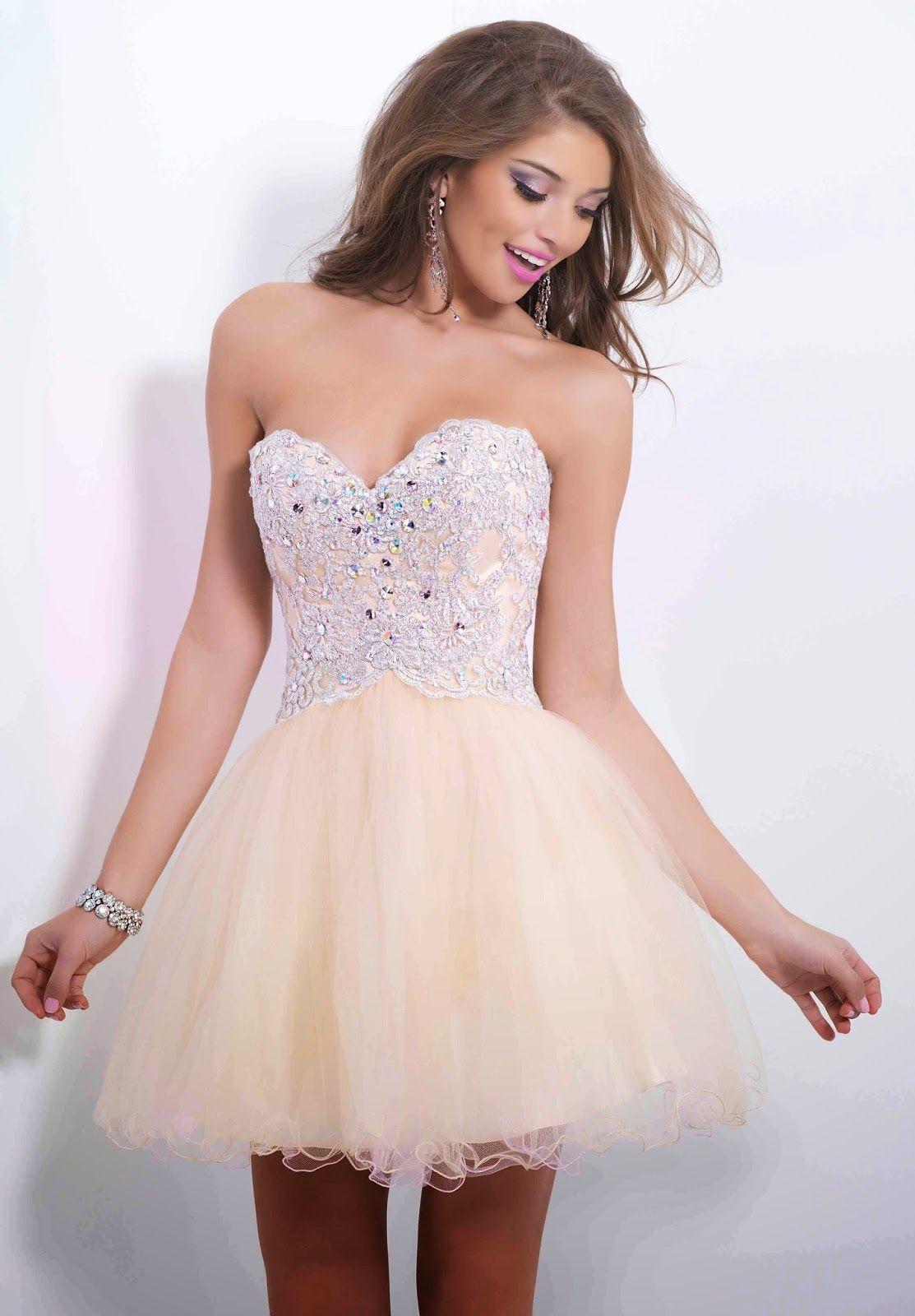 d16c1569f Magníficos vestidos de noche para jovencitas