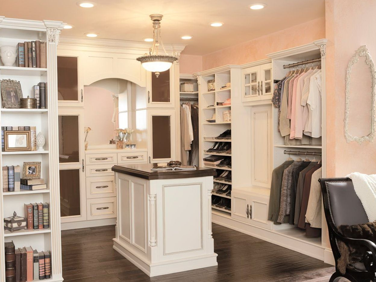 Beautiful walk in closet in the master bedroom closet - Walk in closet designs for a master bedroom ...