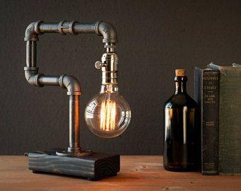 Edison Lampe Rustikal Dekor Tisch Lampe Industrie Lampe Steampunk