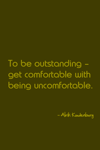 to be an unschooler is to be outstanding. get used to it.