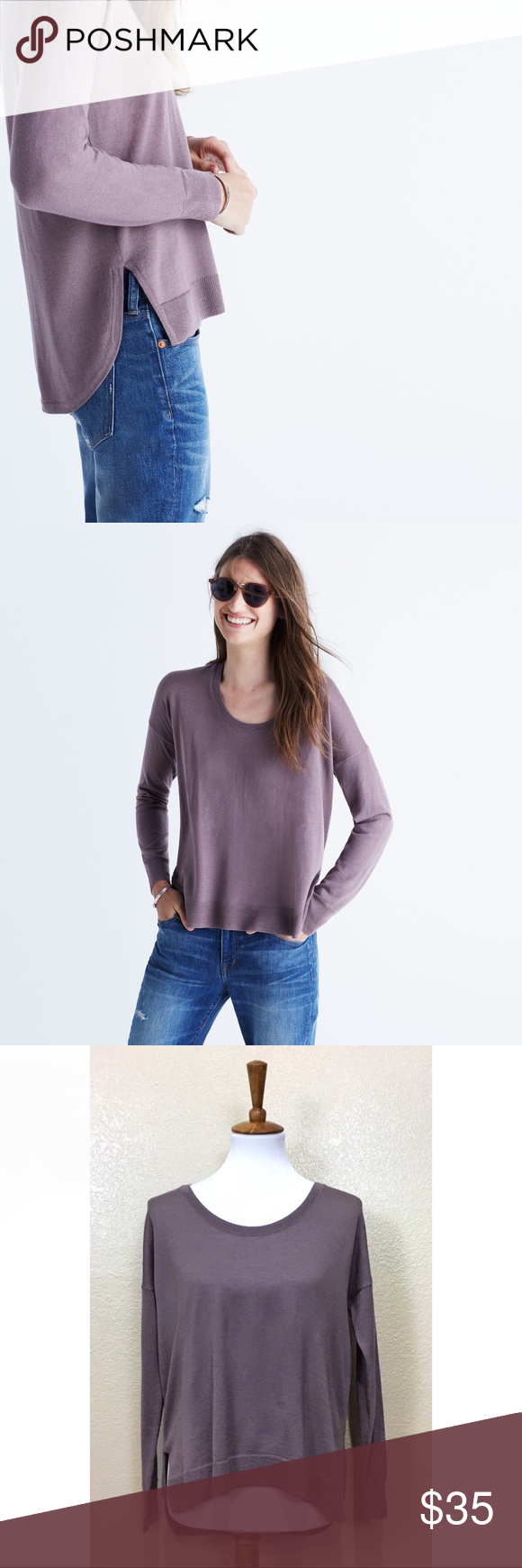 ace3fc882bd Madewell Northlight Knit Pullover Style 5570 Northlight Pullover ...