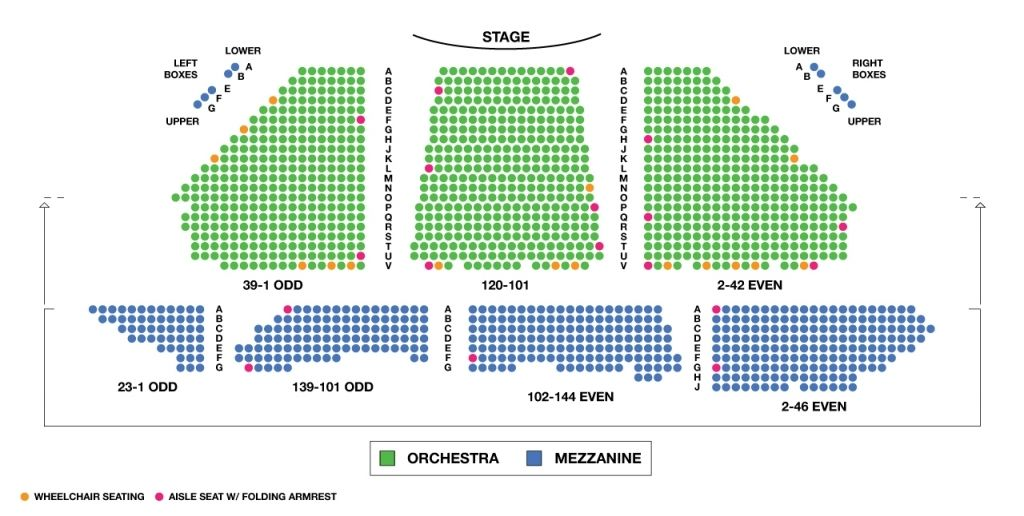 Winter Garden Theatre Seating Chart In 2020 Winter Garden Theatre Theater Seating Seating Charts