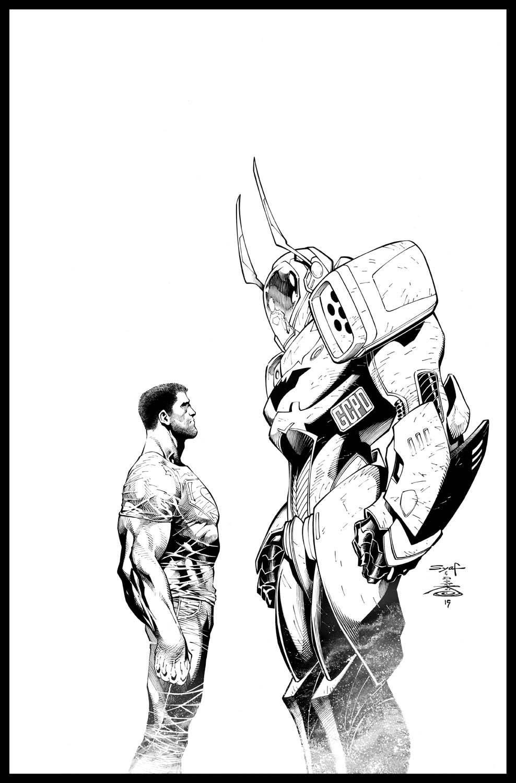 Batman/Superman by Ardian Syaf