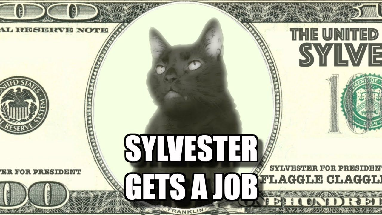Talking Kitty Cat Sylvester Gets A Job Sylvester, Cat