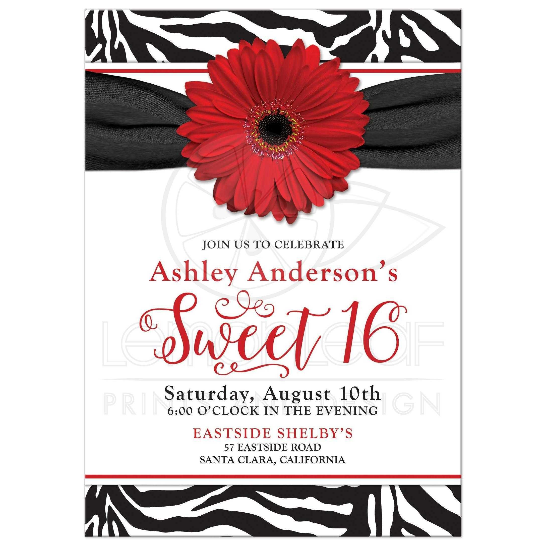 Birthday Invitation Templates Birthday Invitation Templates Word - Sweet 16 invitations templates
