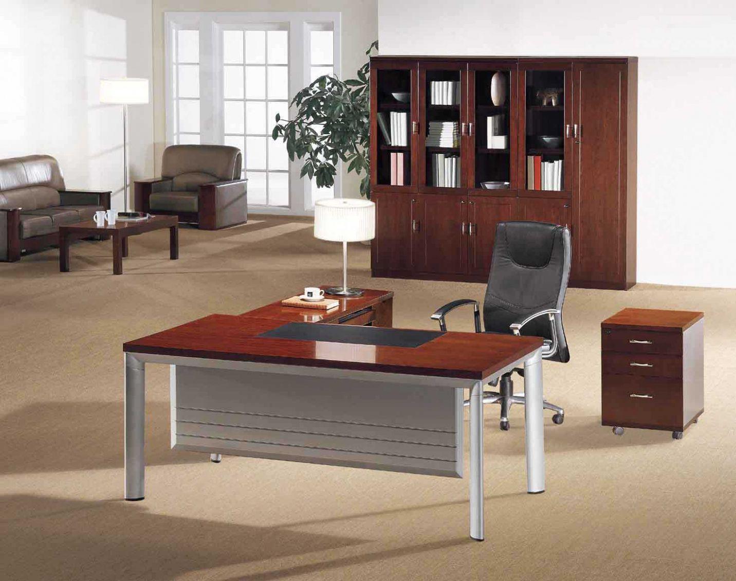 Home office desk wooden top affordable modern furniture home