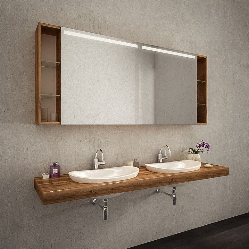 Led Spiegelschrank Nach Mass Kaufen Genua Spiegel21 Spiegelschrank Badezimmer Spiegelschrank Spiegelschrank Holz