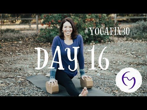 yoga stretch day 16 with fightmaster yoga  youtube  yoga