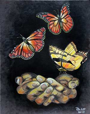 In the Time of the Butterflies | ART | Pinterest | Country), Steps ...