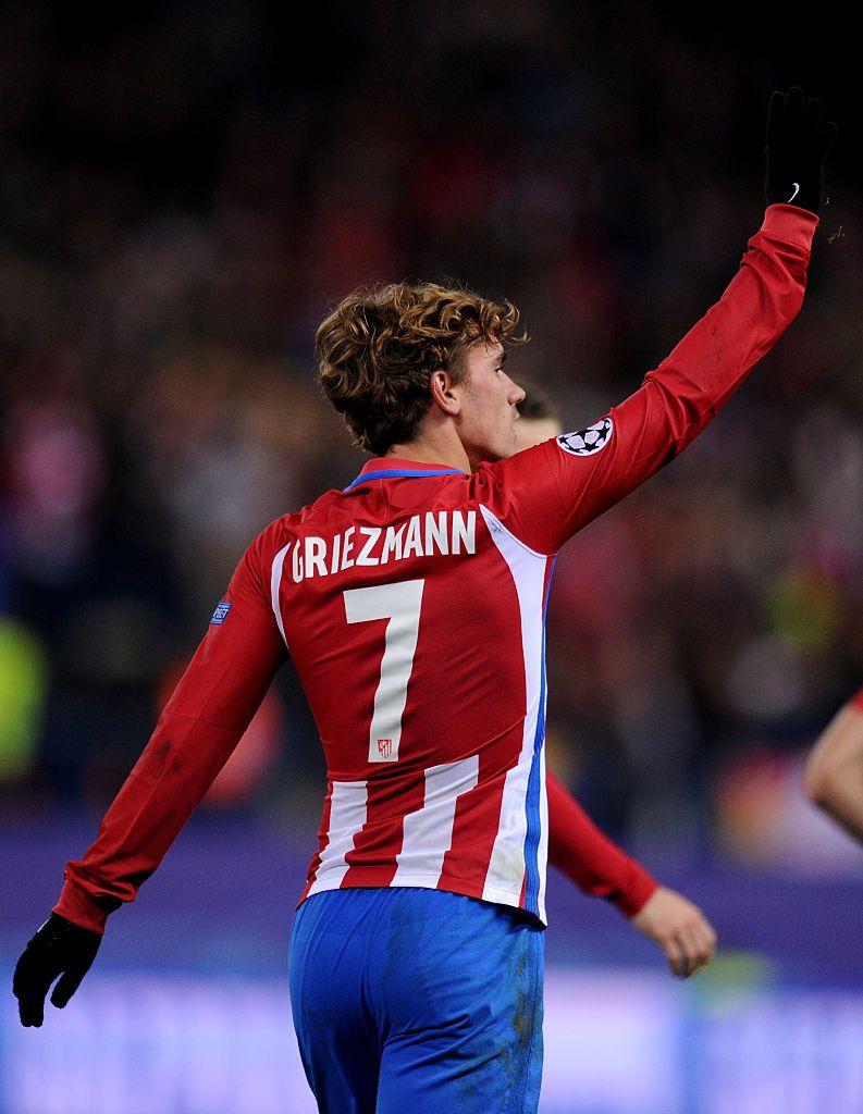 Griezmann Atletico Trikot