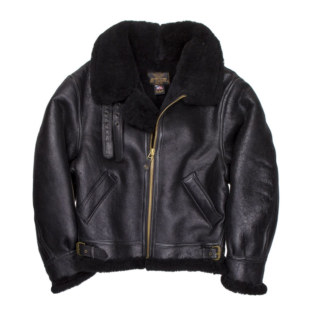 B-3 Authentic Sheepskin Jacket   Proudly made in the USA