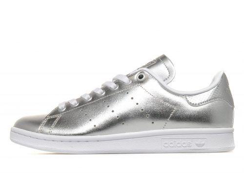 adidas originals stan smith silver