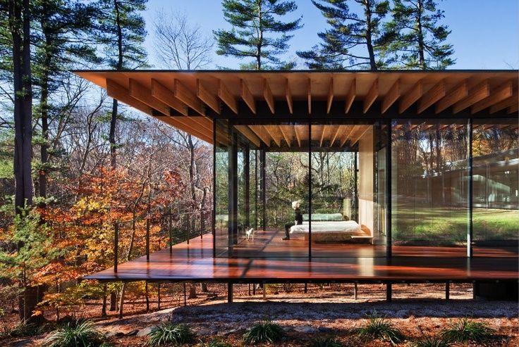 Glass House On Stilts