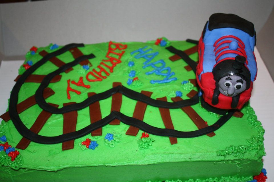 Birthday Cake For Boy 3 Years Old ~ Thomas the train birthday cakes thomas the train party ideas