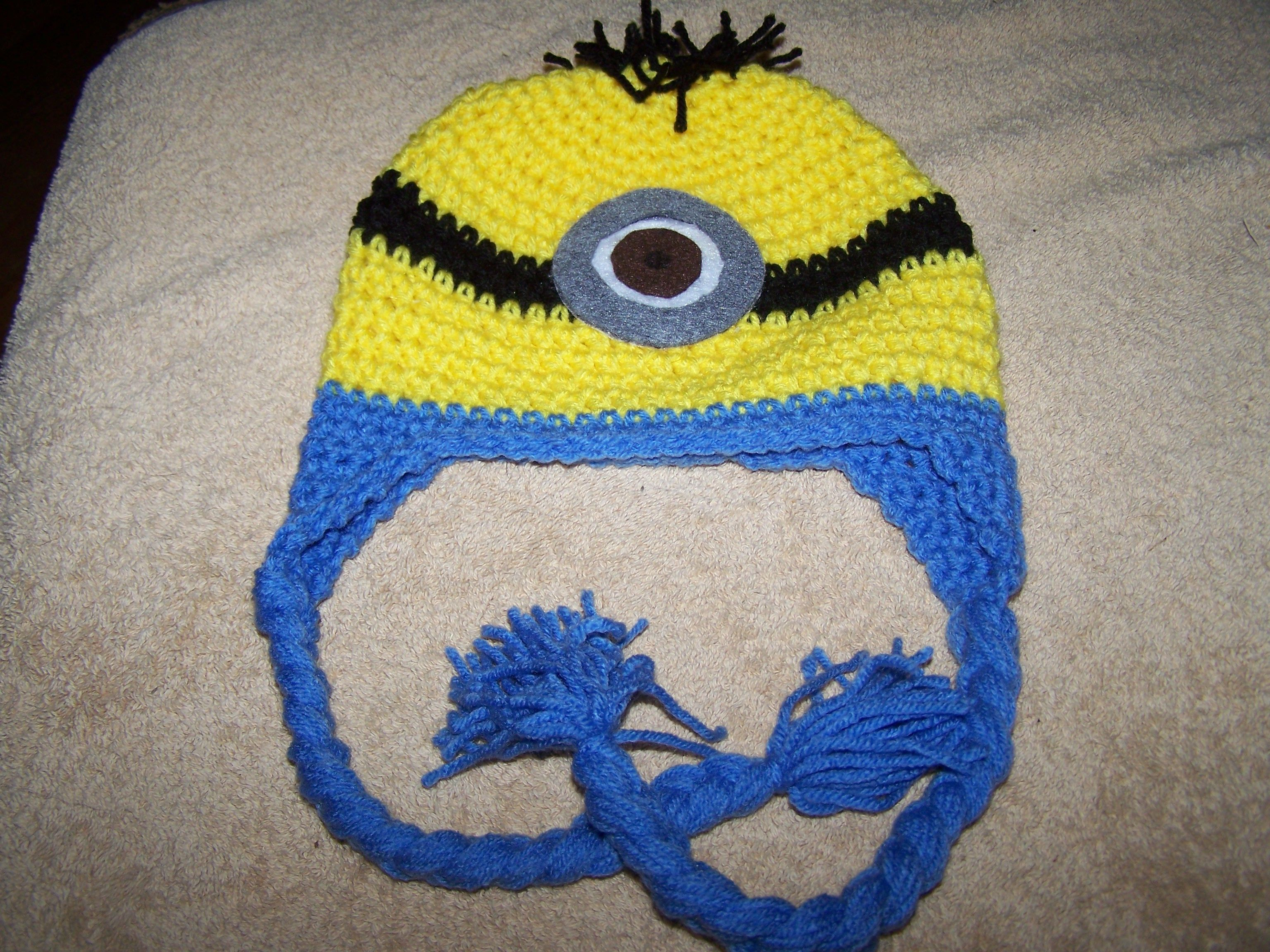 Luxury Minion Hats Knitting Pattern Adornment - Sewing Pattern for ...