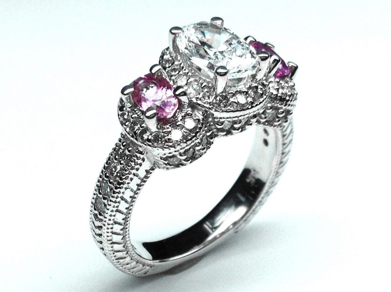 31 Amazing Wedding Rings With Colored Stones | Weddings and Wedding
