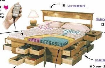 The Anderson Ultimate Bed Best Storage Beds Platform Bed With