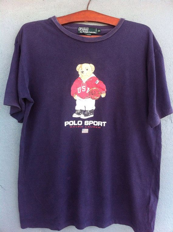 Red Ralph Colors Lauren T 80s Hip Bear Shirt And Vintage Polo Black dxCoBerW
