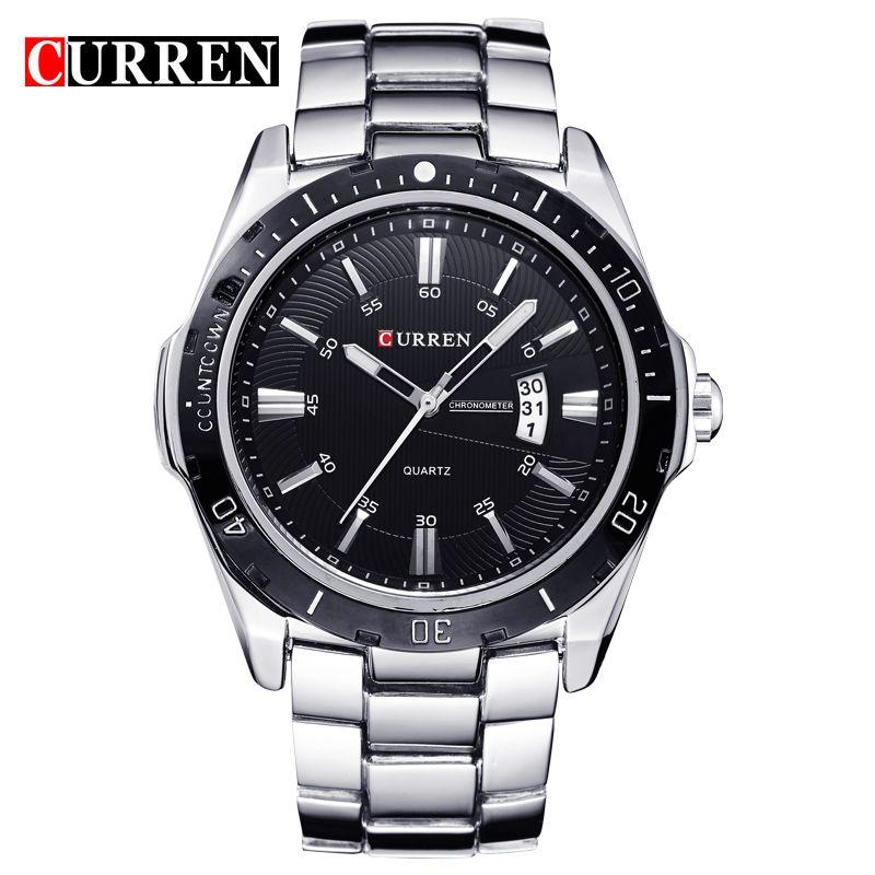 Encontrar Mas Relojes De Cuarzo Informacion Acerca De New2016 Curren Relojes De Los Hombres Superiores D Relojes De Lujo Para Hombres Relojes De Marca
