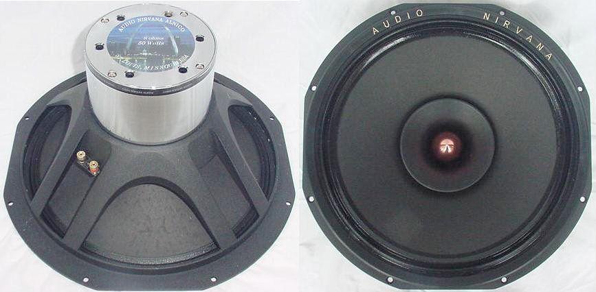 Audio Nirvana fullrange speakersthe world's best sound