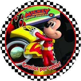 Resultado De Imagen Para Mickey Sobre Ruedas Cumpleanos Mickey Car