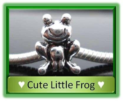 Little Frog Bead  Fits European Style by LucysAtticTreasures, $1.95