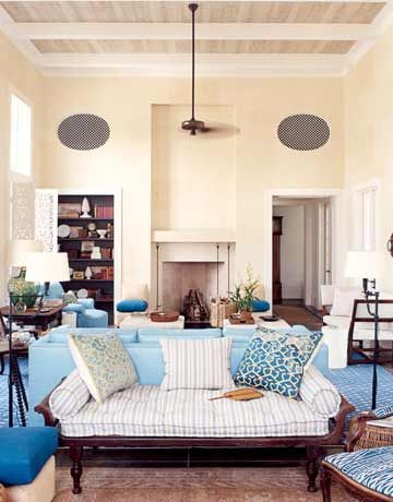 A Blue And Light Design Home My Home Design House Design