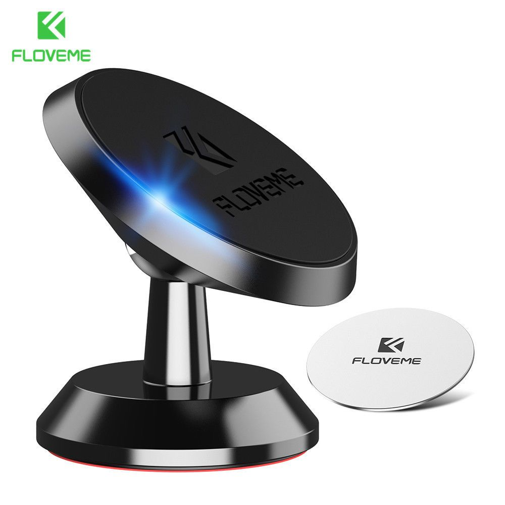 360° Rotating Holder Car Magnetic Mount Stand For Cell Phone PDA GPS Universal
