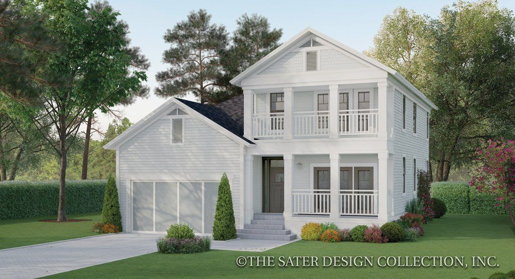 Pin On Two Story House Plans L The Sater Design Collection