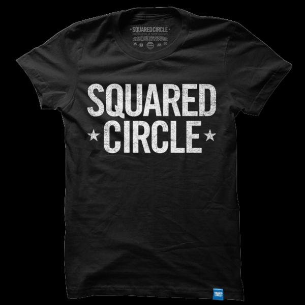Squared Circle Logo Black Circle logos, Workout shirts