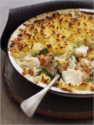 lobster shepherd's pie (only inspiration)