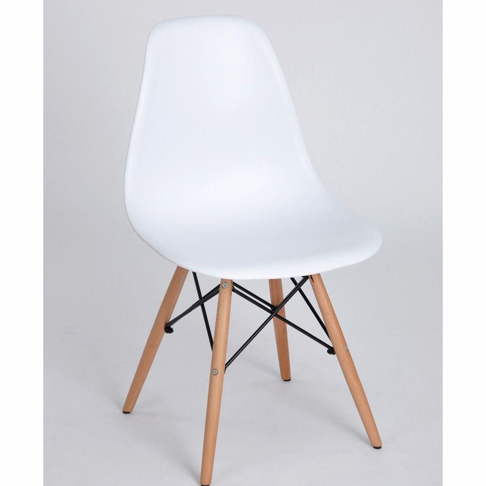 EGGREE Set van 4 Eetkamer Stoel Nordic stijl Mode Eetkamer Wit ...