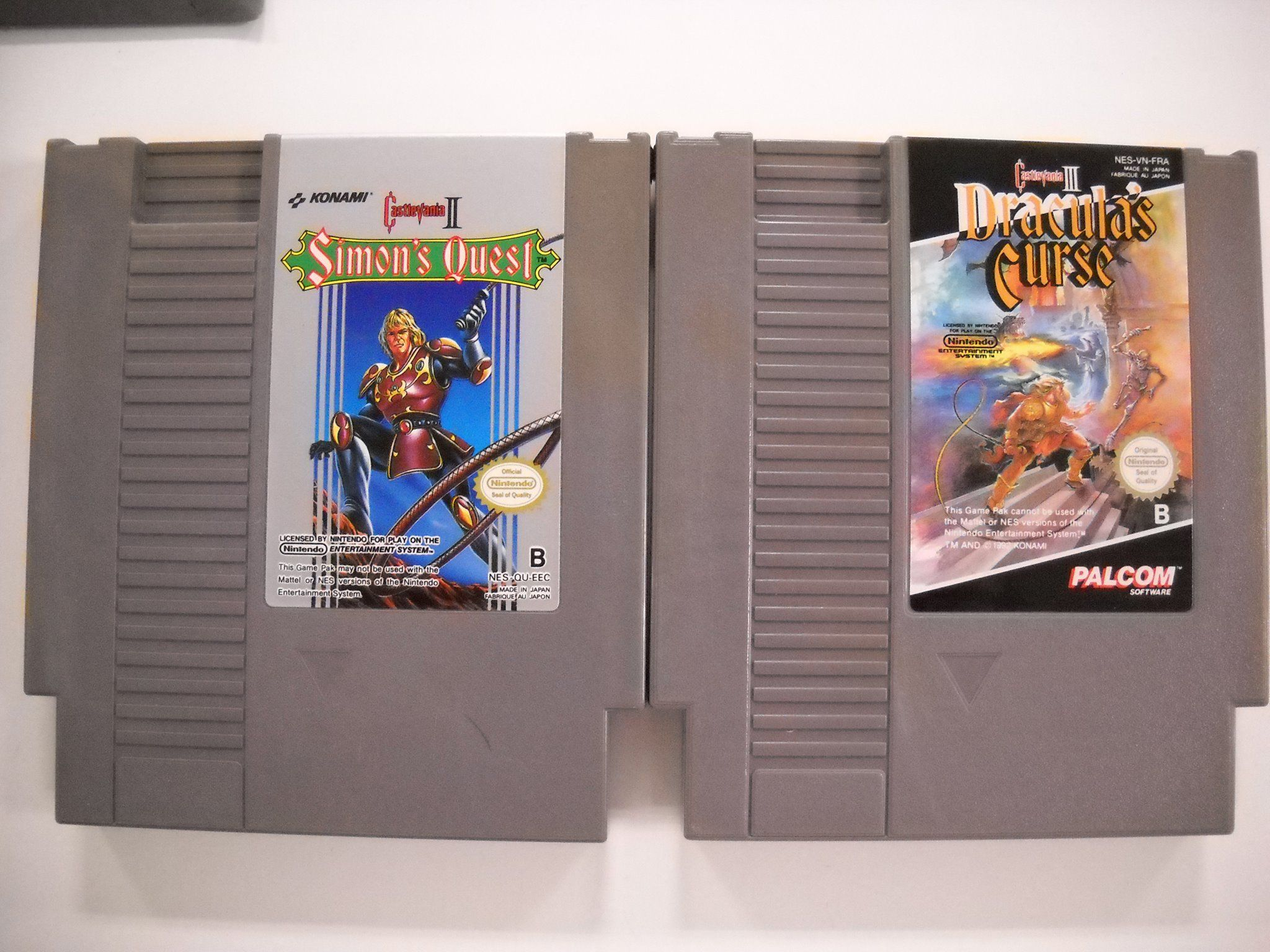 Castlevania II et Castlevania III (NES)
