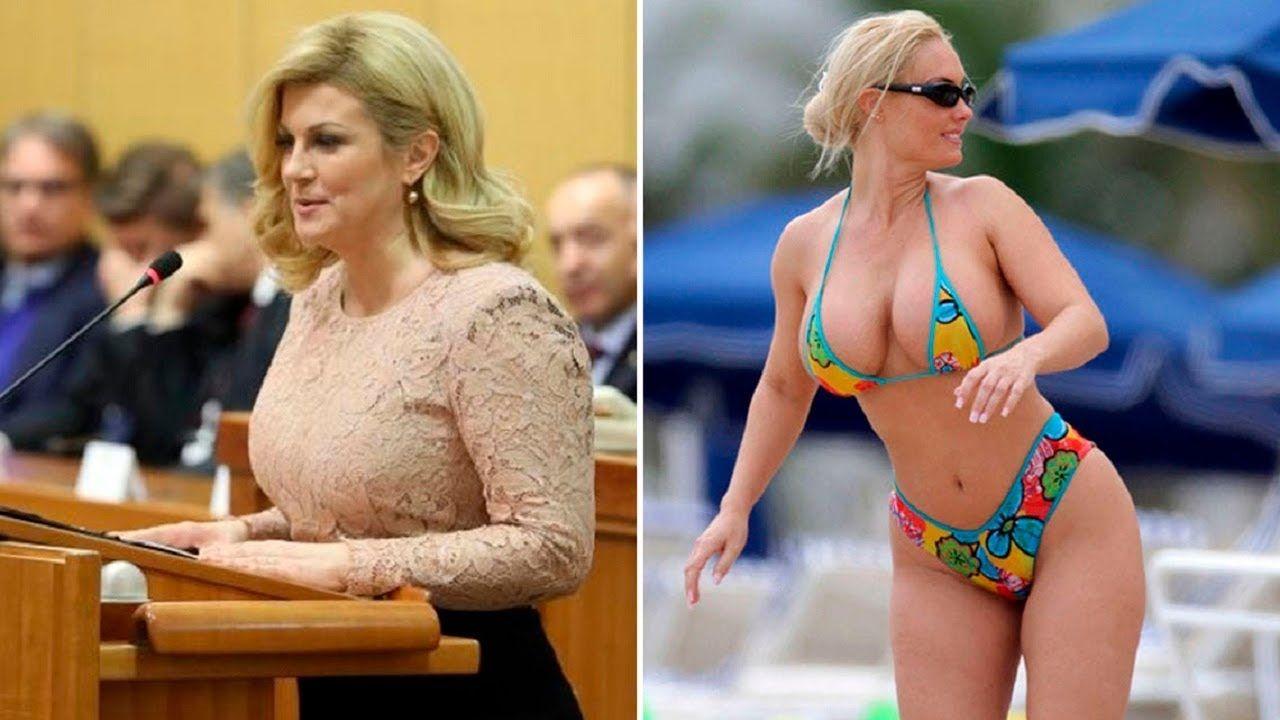 Sexiest & Hottest Croatian President Kolinda Grabar