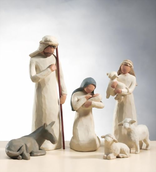 Nativity Geburt Christi Krippenfiguren Willow Tree Susan Lordi