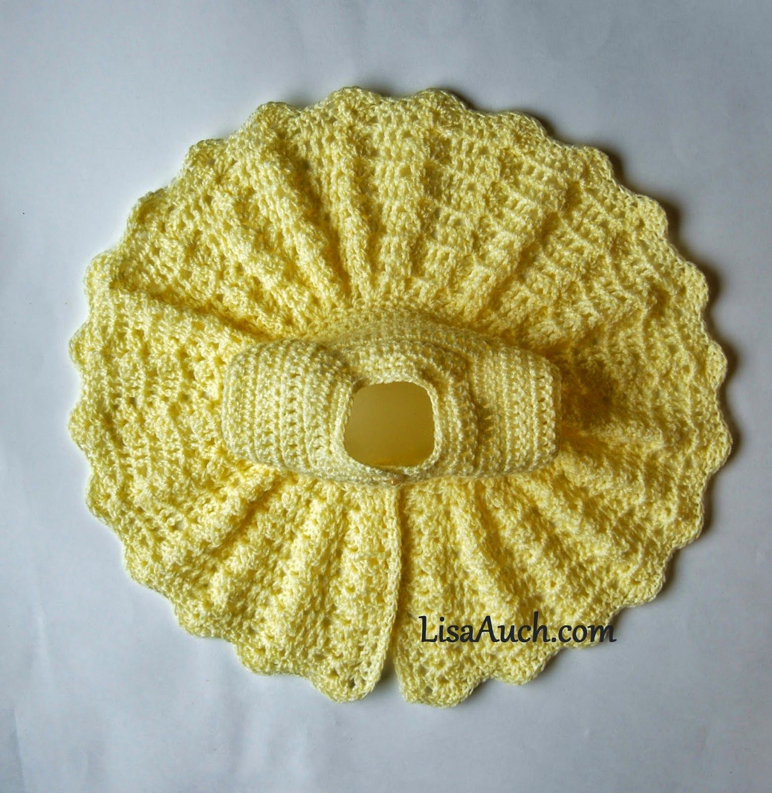 Free Crochet Pattern for a Vintage modern Style Baby Cardigan ...
