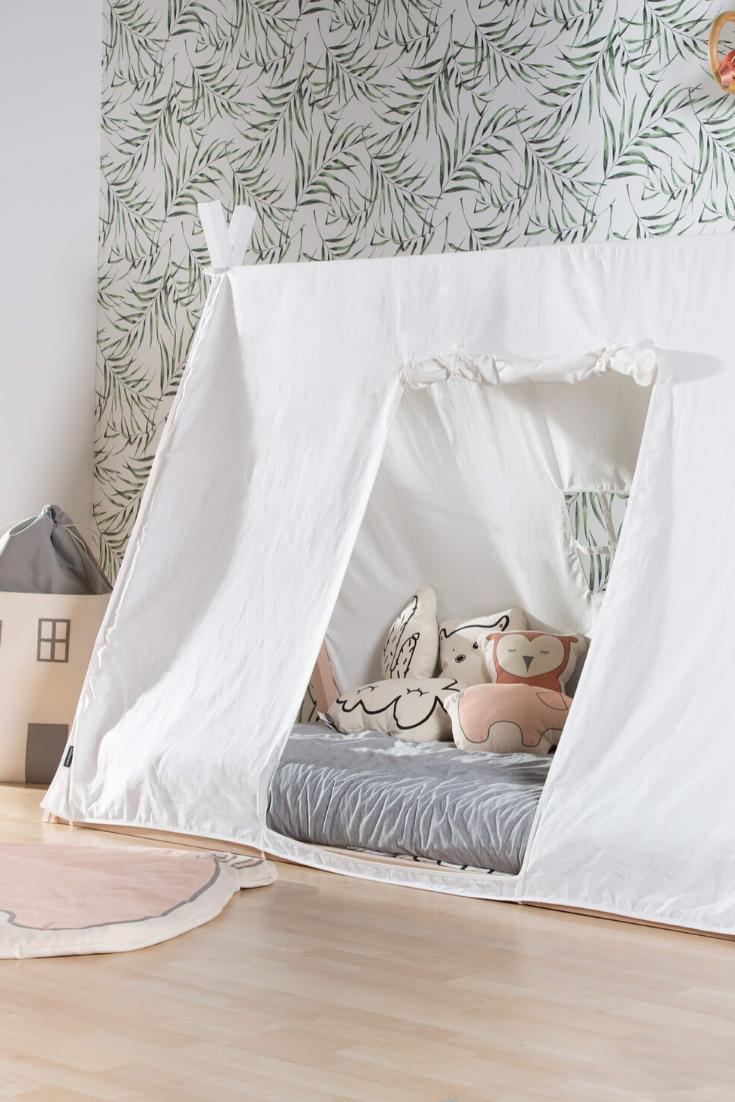 Tipi Bett Bezug Ando Jetzt Online Kaufen Satamo De In 2020 Zelt Bett Tipi Bett Kinderbett Zelt