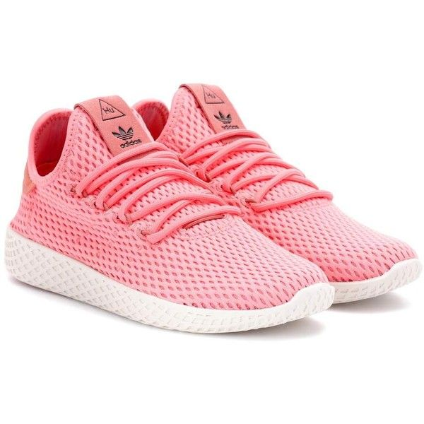 the best attitude 37381 7d2ff adidas Originals  Pharrell Williams Tennis Hu Sneakers (120) ❤ liked on  Polyvore featuring shoes, sneakers, pink, pink shoes, tenny shoes, tennis  trainer ...