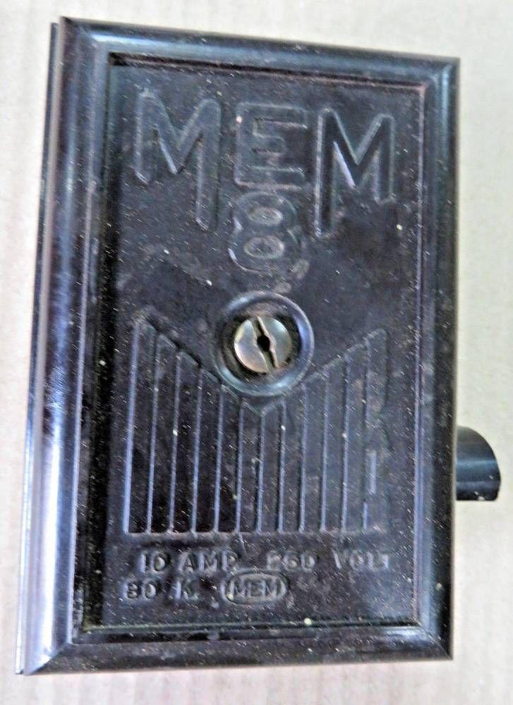 mem 8 black bakelite lid ceramic body electrical fuse boxbalboa 10 amp box mount fuse block