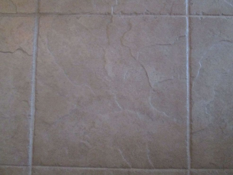 Replace a Cracked Floor Tile Replaced a craked floor tile on my     Replace a Cracked Floor Tile Replaced a craked floor tile on my bathroom  floor