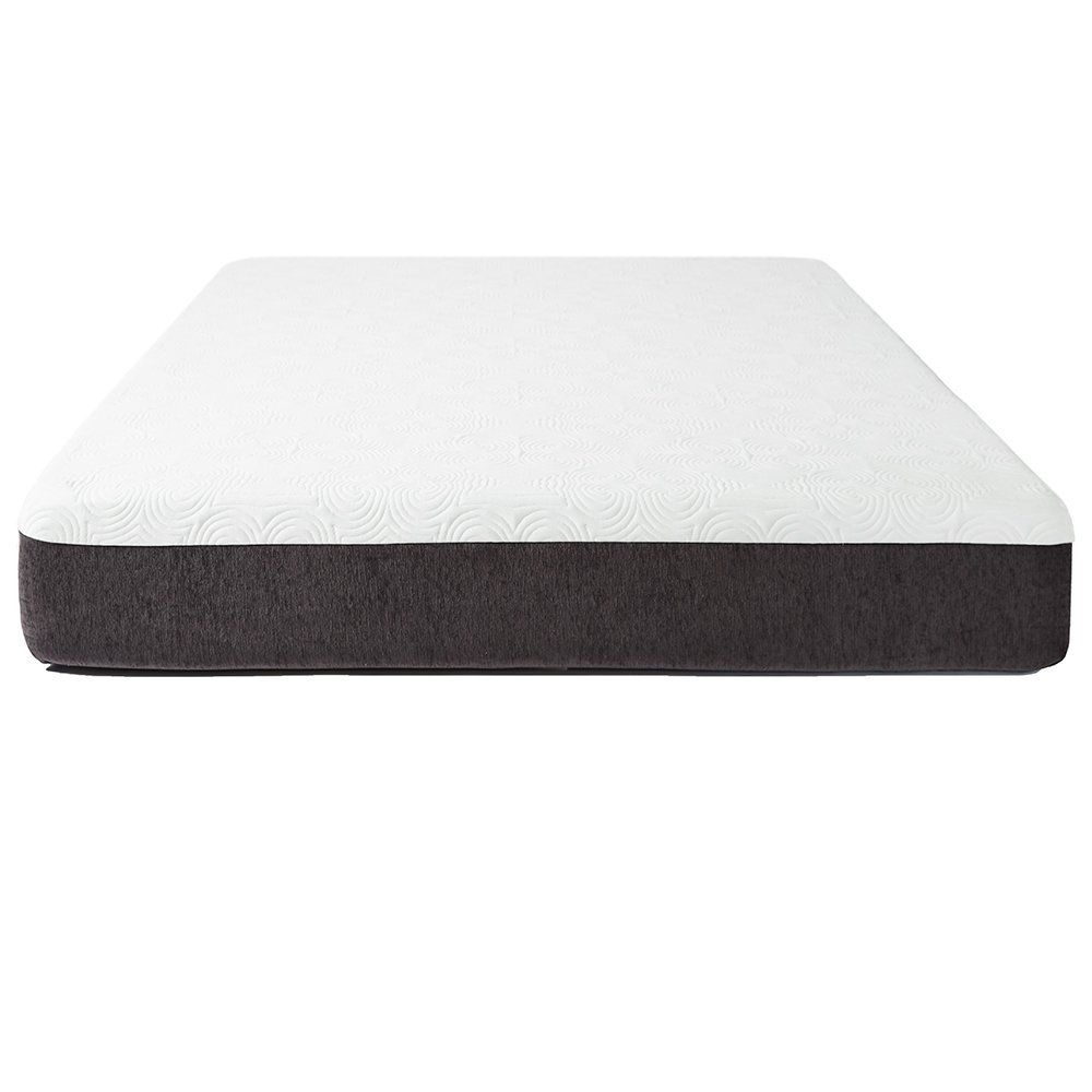 Sure2sleep 10 Inch Plush Gel Memory Foam Mattress With Side Edge Support Twin 10 Year Warranty Gel Memory Foam Mattress Memory Foam Mattress Gel Memory Foam