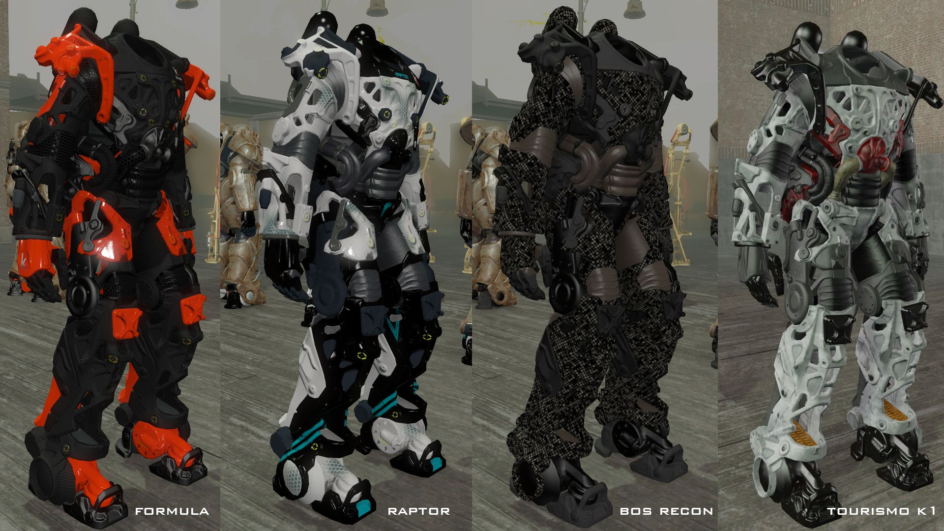 Kooj's Power Armor Frames at Fallout 4 Nexus - Mods and