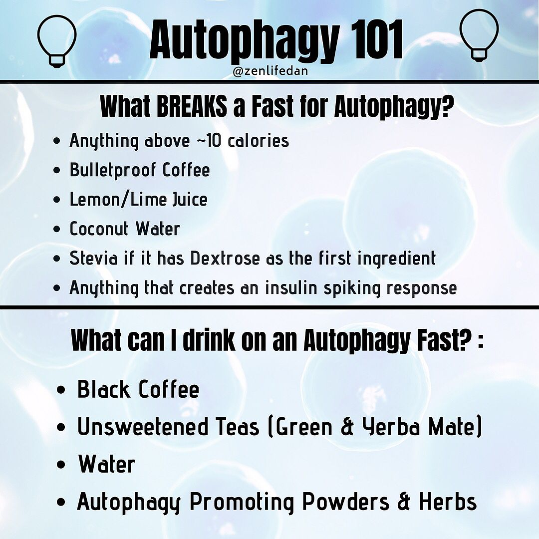One of the greatest benefits of Fasting is Autophagy  These