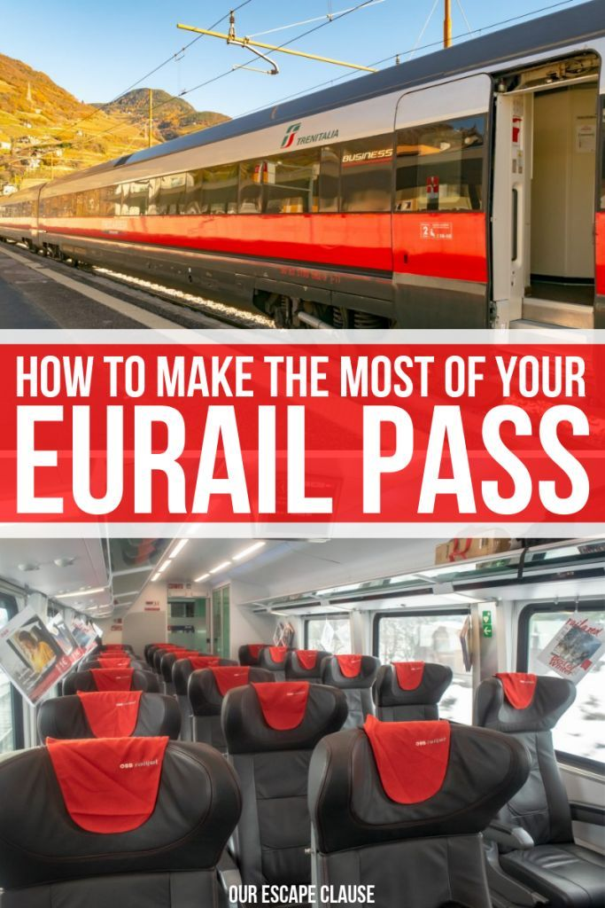 How to make the most of your Eurail pass: the complete guide! #eurail #europe #traintravel #travel #europeanrailtravel