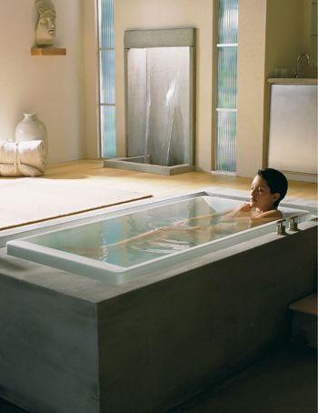 best bathtub ever! | Dream Home | Pinterest | Bathtubs, Showroom ...