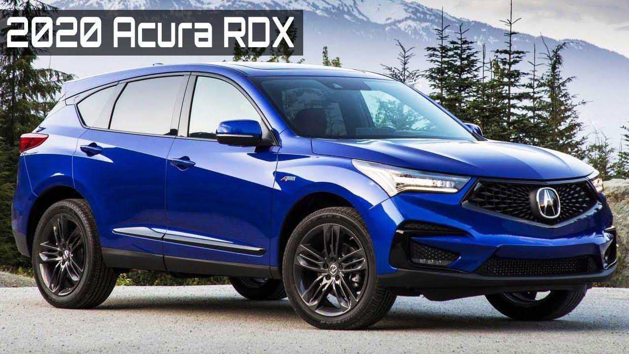 2020 Acura Rdx Interior And Exterior In 2020 Acura Rdx Acura Interior And Exterior
