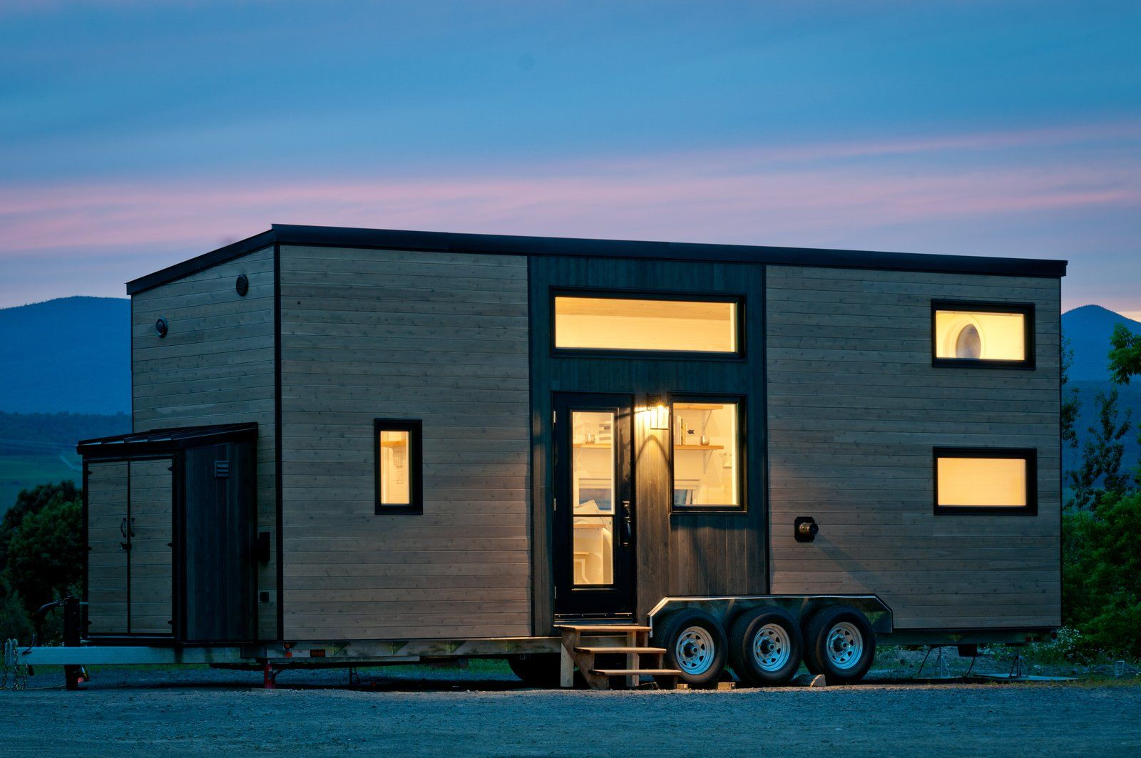 This Canadian Trio Builds Contemporary Tiny Homes Starting Under