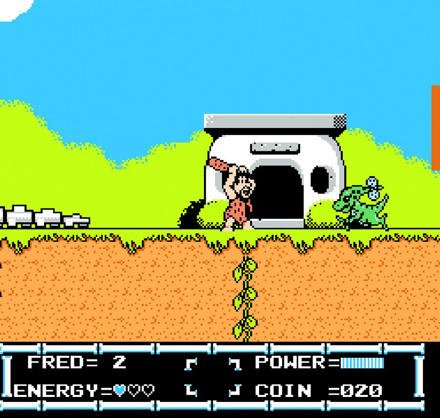 Game review: Taito's Flintstones: The Rescue of Dino ...